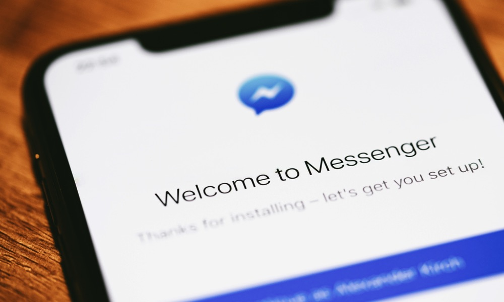 Facebook Messenger on iPhone